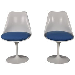 Pair of Eero Saarinen for Knoll Tulip Chairs, circa 1960