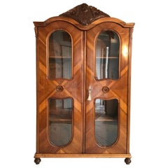 1920s Jugendstil Book Cabinet or Armoire from Vienna