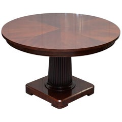 Ralph Lauren Mayfair Mahogany Centre Dining Occasional Round Table