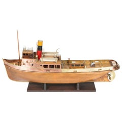 Model of a Mersey Type Steam Tug