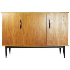 Classic Scandinavian Modern Swedish Teak Cabinet with Drawers, 1950s