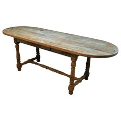 19th Century Oak Table, France