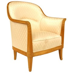 French Art Deco Bergere, Attributed to Léon Jallot