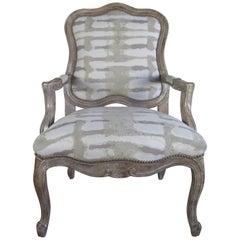 Paul Robert Linen Chair
