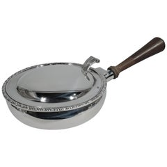 Traditional Georgian-Style Sterling Silver Silent Butler