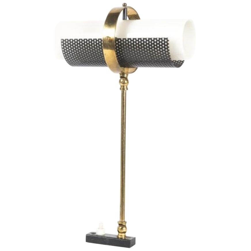 Jacques Biny, in the Style of Double Walled Wall Lamp, circa 1950