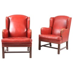 Pair of 1940s Lounge Chairs