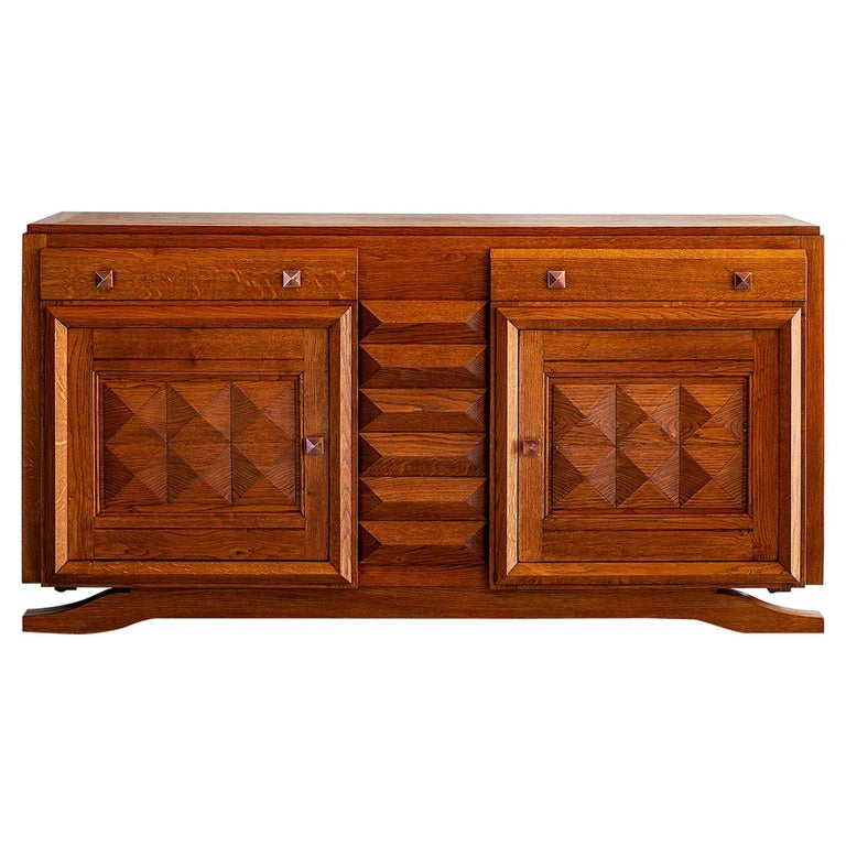 Charles Dudouyt Sideboard For Sale