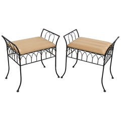 Pair of Directoire Style Benches