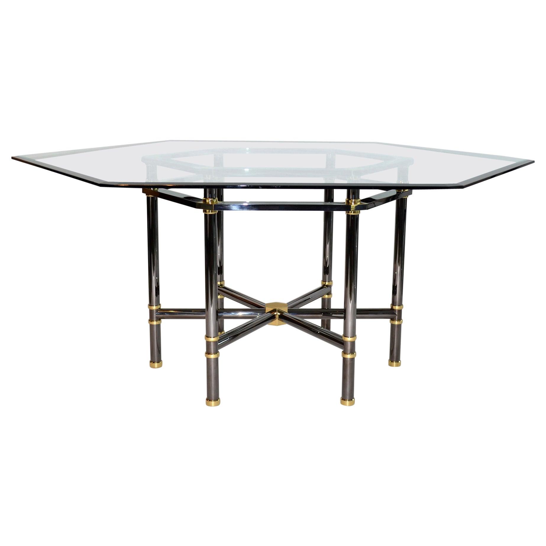 Karl Springer Jansen Style Dining Table