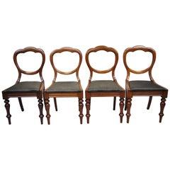 Viktorianisch Esszimmerstühle
