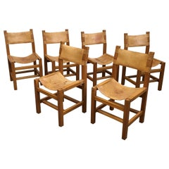 Set of 6 Chairs Edited by Maison Regain