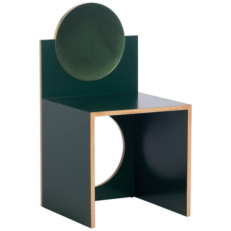 Void Chair in Bouteille from the Qualia Collection by Azadeh Shladovsky For Sale