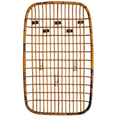 Rattan Wall Rack by Olaf von Bohr