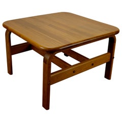 Solid Teak Danish Modern Coffee Table