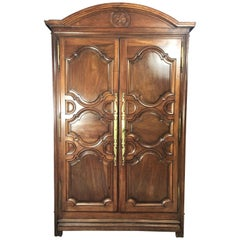 Louis 14 Armoire Paris in Walnut end of the 17th early 18th Century