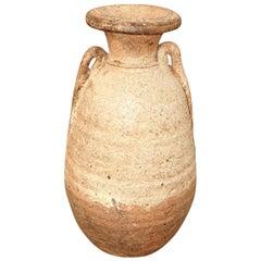 16th Century Cambodian Cream Vase
