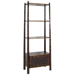 Bookcase/Etagere, by Rose Tarlow, chinoiserie decor.
