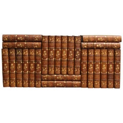 Books The Writings of Leo Tolstoy, Collections of Leather Bound  Antiques Sets