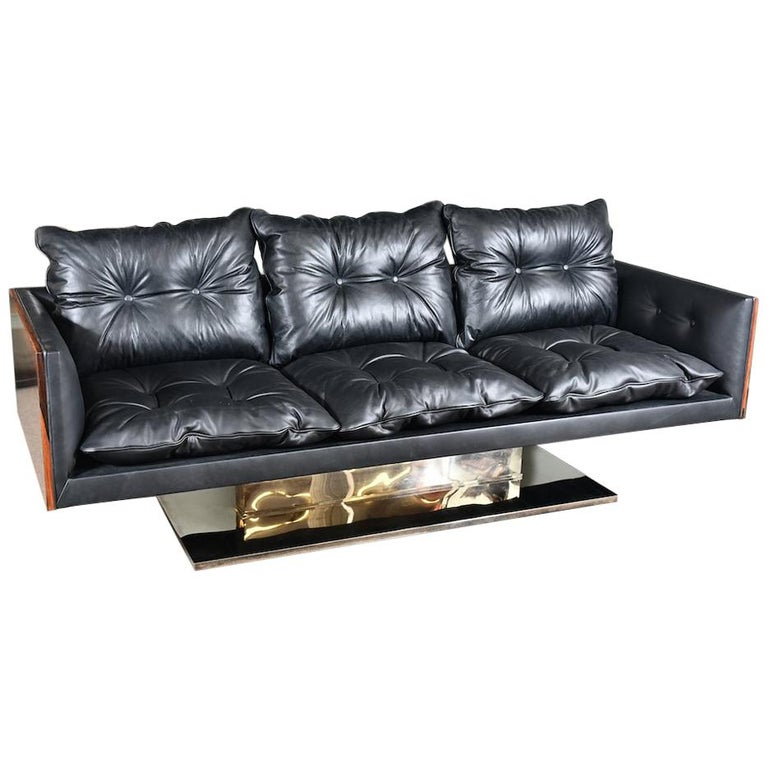 American Midcentury Sofa Done by W. Platner For Sale