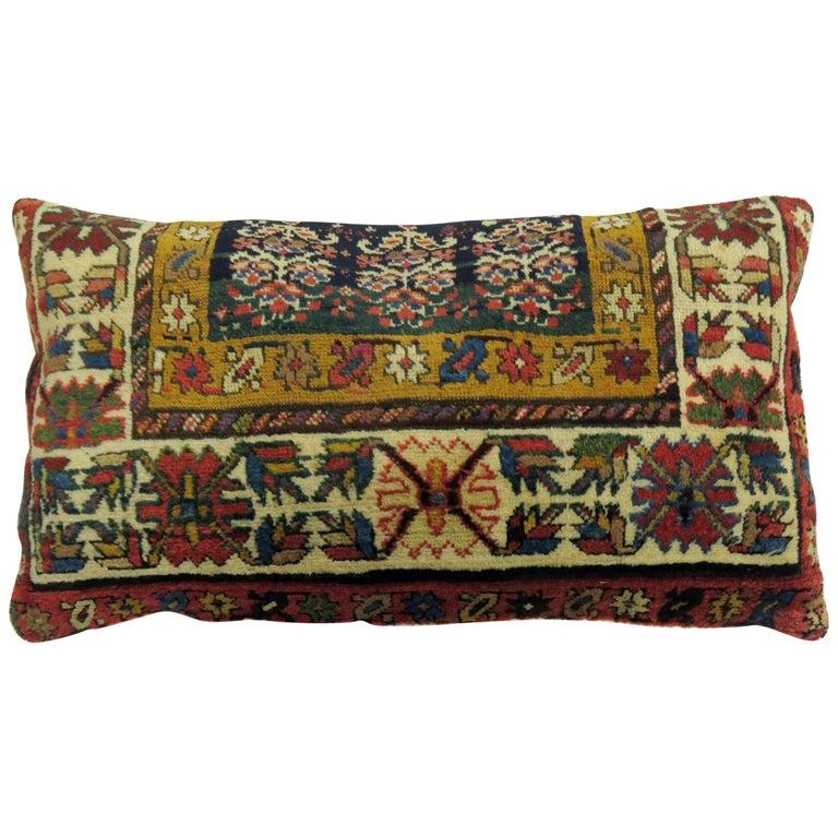Large Caucasian Shirvan Pillow For Sale