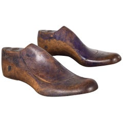 Early 20th Century Antique Wooden Shoe Last, circa 1920