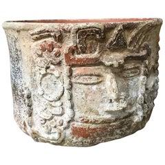 Mayan Terracotta Vesel