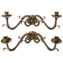 Pair of Fine Two-Arm Sconces