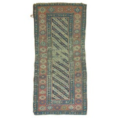 Distressed Antique Caucasian Runner