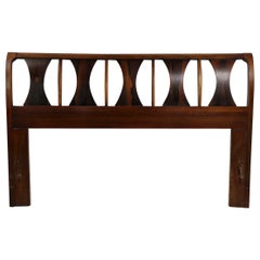 Architectural Mid Century  Headboard Perspecta by Kent Coffey