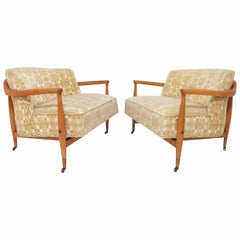 Pair of Club Chairs in the Manner of Ib Kofod-Larsen for Selig