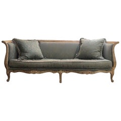 Italian Hand Carved Sofa, Late 20th Century