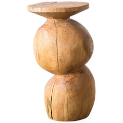 Hiroyuki Nishimura and Zogei Furniture Sculptural Stool glamping African Art