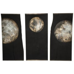 Quercus - Wall-Mounted Moon Triptych, Tom Palmer