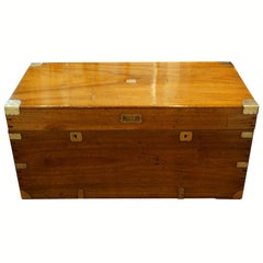 Victorian Camphorwood Campaign Chest