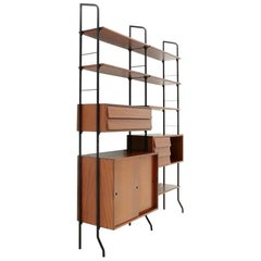 Italian Midcentury Aedes Wall Unit by Amma, 1950s