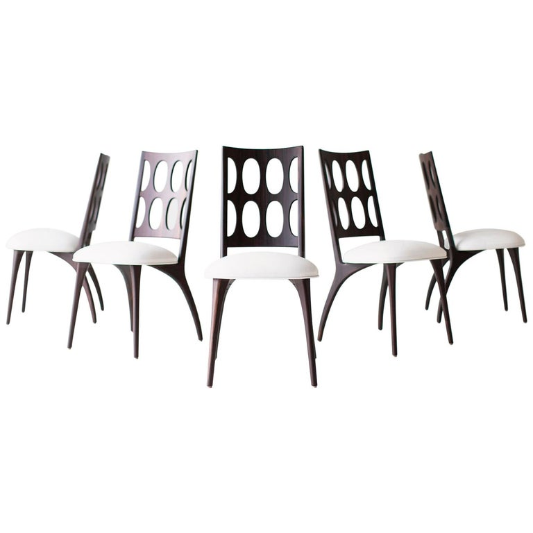 Modern Dining Chairs, 1901 for Craft Associates Furniture For Sale