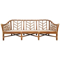 McGuire Bamboo Sofa