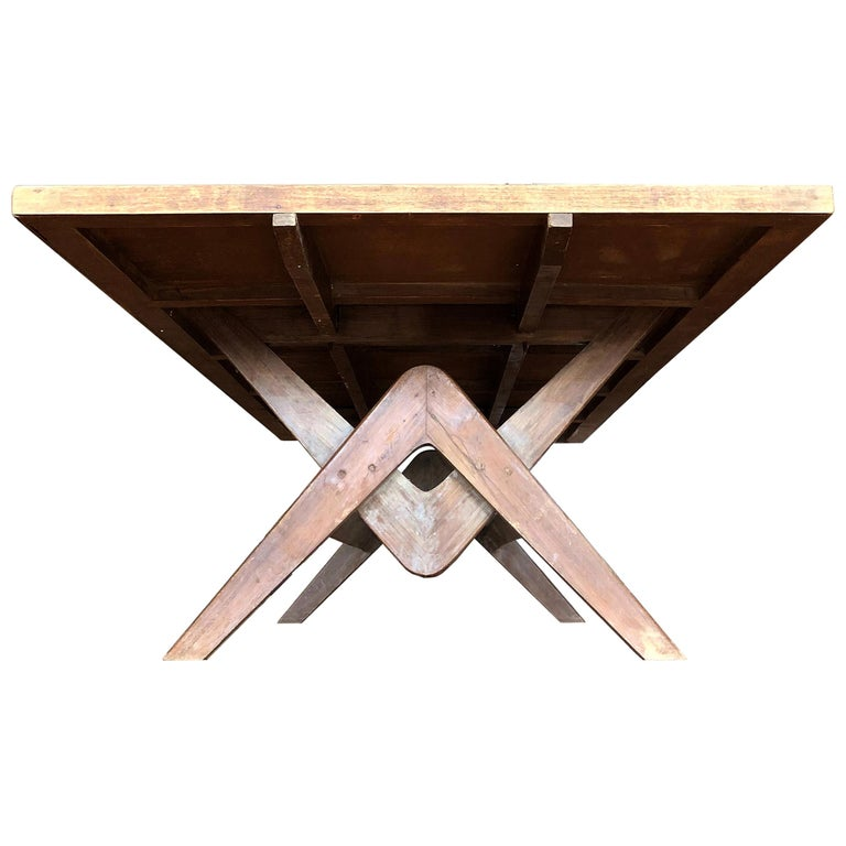 Pierre Jeanneret Committee Table For Sale