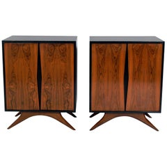 Pair of Modern Rosewood Chests for Grosfeld House