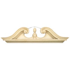 Pair of English Georgian Style Cornices 'Valences'