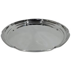 Cartier Midcentury Modern Sterling Silver Serving Tray