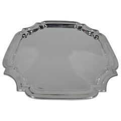 American Sterling Silver Square Georgian Style Tray
