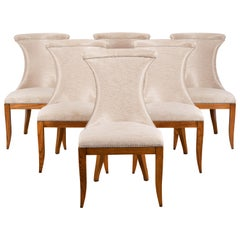 Art Deco Set of Eight Chairs by Restall Brown and Clennel