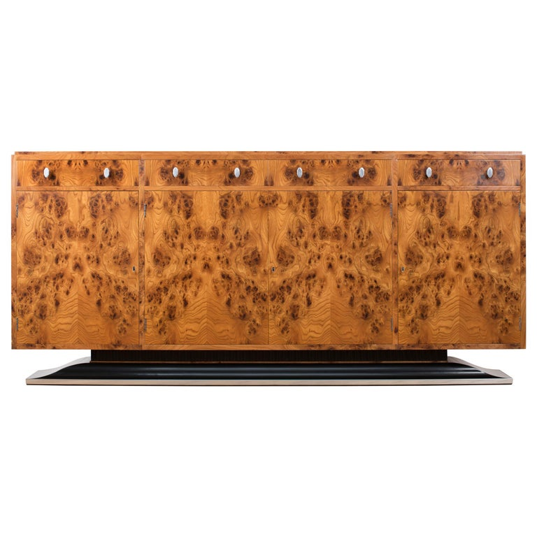 Art Deco Style Sideboard by Restall Brown and Clennell For Sale