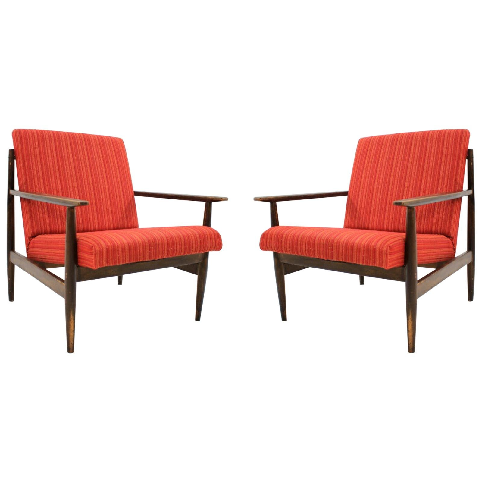 Pair of Midcentury Armchairs, 1970s