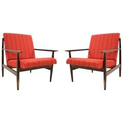Pair of Midcentury Armchairs, 1970s