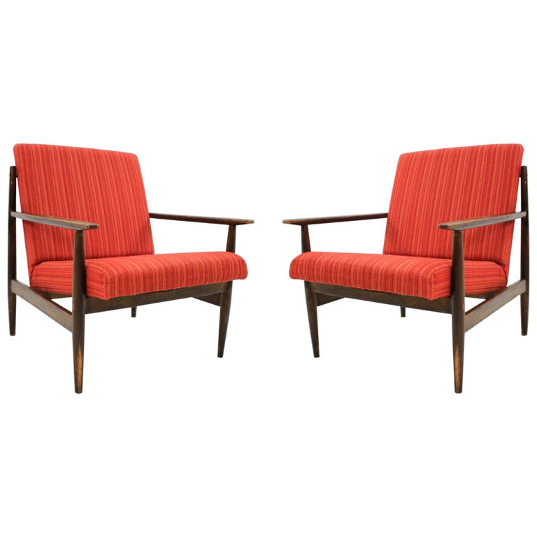 Pair of Midcentury Armchairs, 1970s For Sale