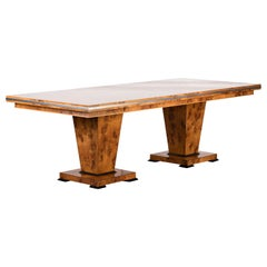 Large Extendable Art Deco Style Table by Restall Brown and Clennell