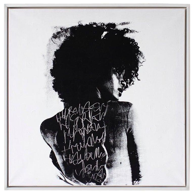 """Juno"" Mixed-Media Street Art For Sale"